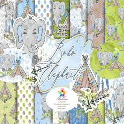 Дизайнерски картони - Слончета