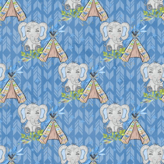 Design paper pack - elephants