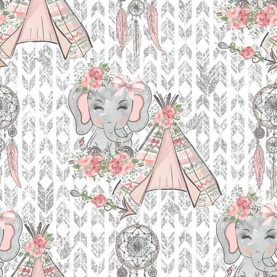 Design paper pack - Elephants