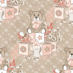Дизайнерски картони - Baby girl