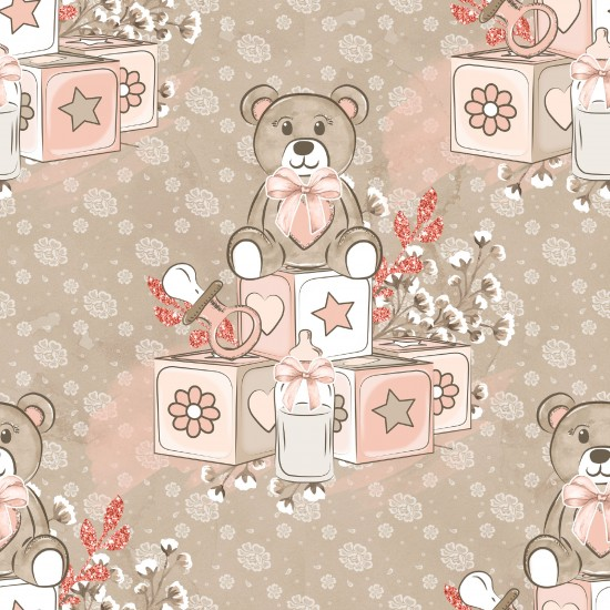 Design paper pack - Baby girl
