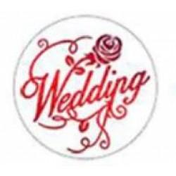Метален печат за восък - Wedding