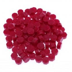 Червен восък за печати - 100 гранули