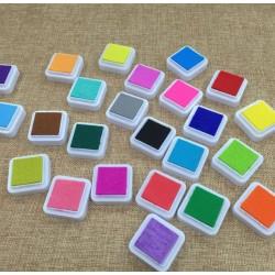 Цветна дъга от мастила - 3.3 см х 3.3 см