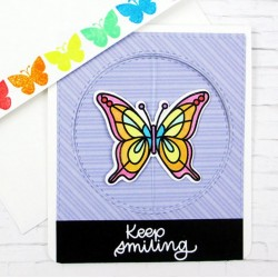 Печати и щанци за изрязване - Пеперуди