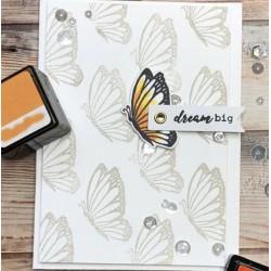 Силиконов печат - Многопластова пеперуда