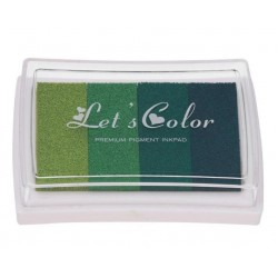 Мастило - нюанси на зелен цвят