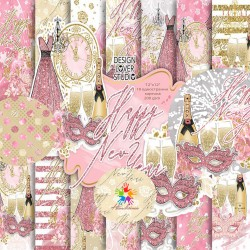 Дизайнерски новогодишни картони - Happy New Year