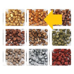 wax sealing beads-gold