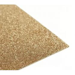 Eva gold glitter -20x30 cm