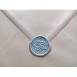 Metal wax seal stamp - flowers