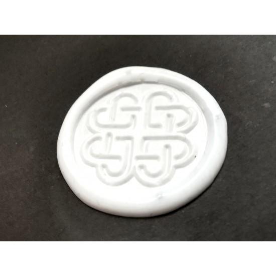 Metal wax seal - hearts