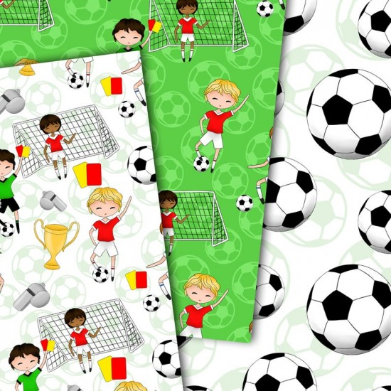 Design paper - World cup 8 x 8 inches