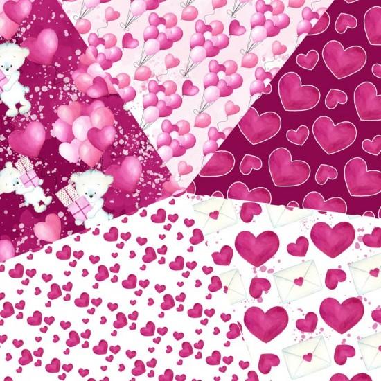 Design paper - Valentine's day paper