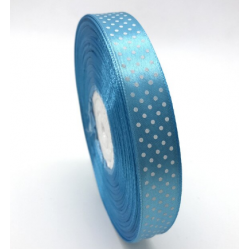 5yards 20mm Printing Polka Dot Satin Ribbon