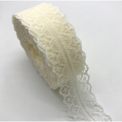 10yards 30mm Lace Ribbon - Ivory
