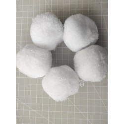 White cotton - 10 pcs