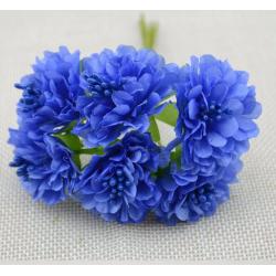 Flowers - 6 pcs - blue