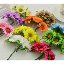Flowers - 3 pcs coffe
