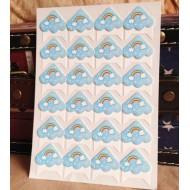 Хартиени ъгълчета за снимки с дъга