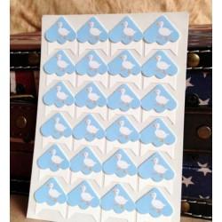 Хартиени ъгълчета за снимки с пате
