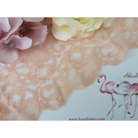 Peach lace - 1 m
