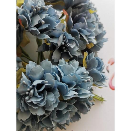Blue flowers 6 pcs.