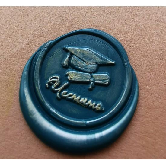 Metal wax seal - Graduation