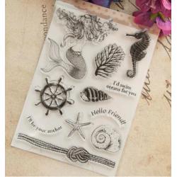 Sea Silicone Stamp