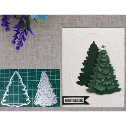 Cutting die -Christmas Tree