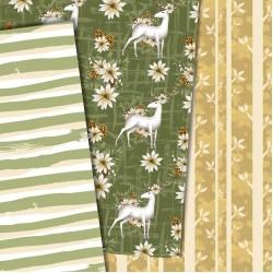 Christmas design paper - Winter deer