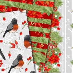 Christmas design paper - Christmas bird