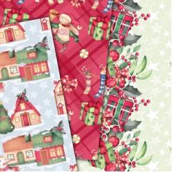 Christmas design paper - Christmas bunny
