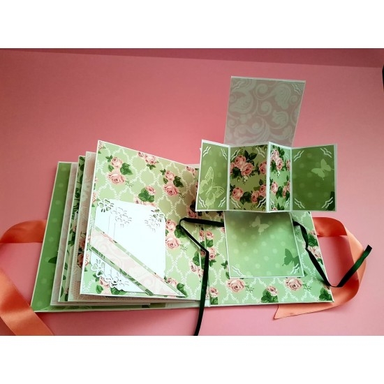 Design paper pack- Shabby Chic Pink