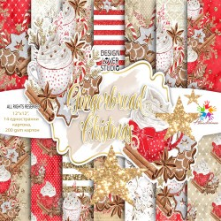Design paper pack - Ginger Christmas