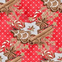 Коледни дизайнерски картони - джинджифилова Коледа
