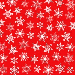 Christmas design paper pack - red Christmas