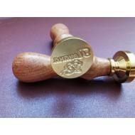 Metal seals for Cyrillic wax - 2 pcs.