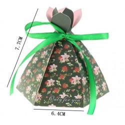 Шаблон за изрязване и релеф - кутийка рокля