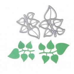 Leaf cutting die