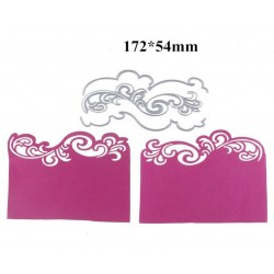 Border lace cutting die