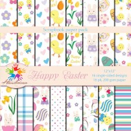 Design paper pack -  Happy Easter