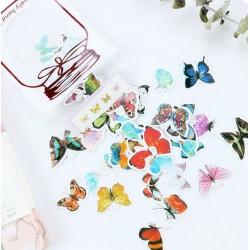 Стикери на пеперуди - 50 бр.