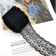 Black lace - 4.5 cm, 5.5 m