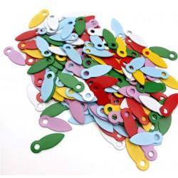 Брадс холдер - ключалки - многоцветни 10 бр