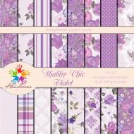 Design paper pack- Shabby Chic  Violet