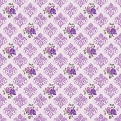 Дизайнерски картони Шаби Шик стил - Виолет