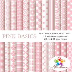 Дизайнерски картони - Бебешко розово