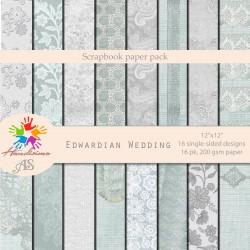 Дизайнерски картони със сватбени мотиви - Edwardian Wedding