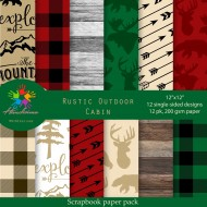 Design paper - Rustic Outdoor Cabin